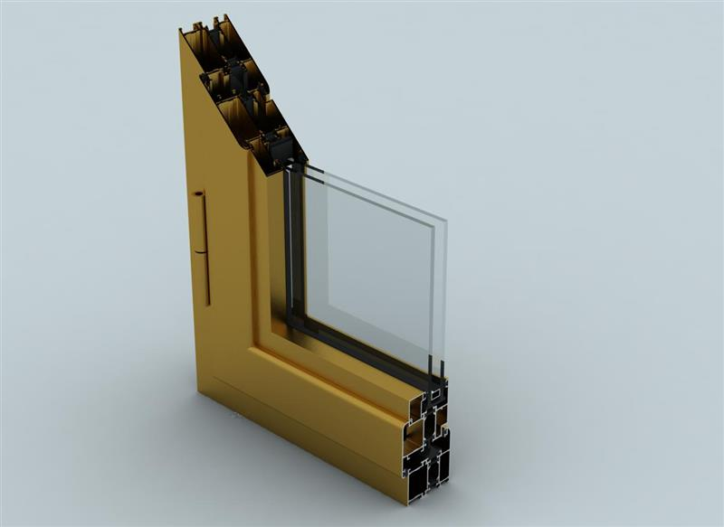 WD55 Thermal Windows and Doors Systems